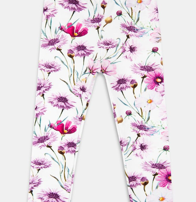 Stylowe i modne legginsy dla dziewczynki